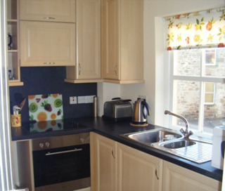 Anstruther holiday home kitchen