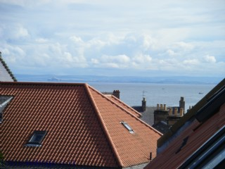 Anstruther from the house